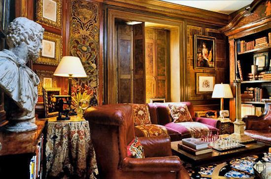 декор интерьера в старом британском стиле