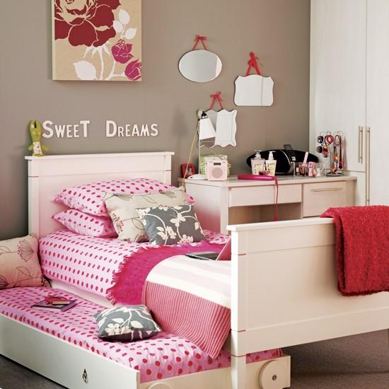Красивая комната для девочки подростка своими руками 46