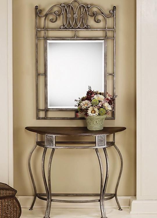 desing-crimea-кованый декор зеркало