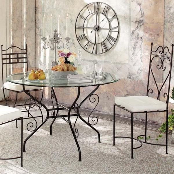desing-crimea-кованый декор столик стулья