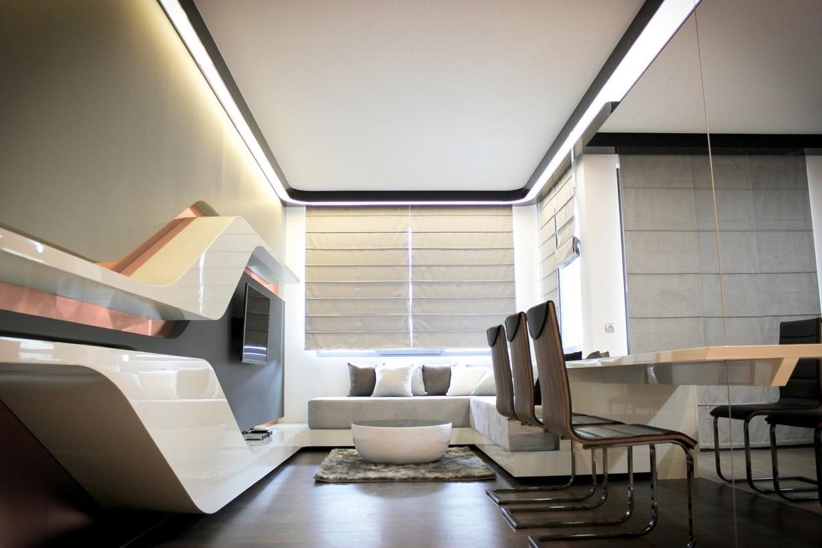 Images of Futuristic Bedroom Design 23 - #SC