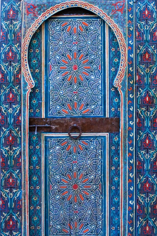Painted Door, Dar Tazi