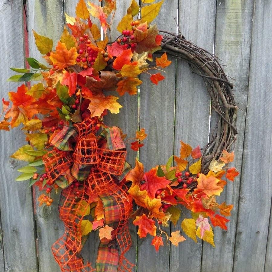 Поделка на осень своими руками