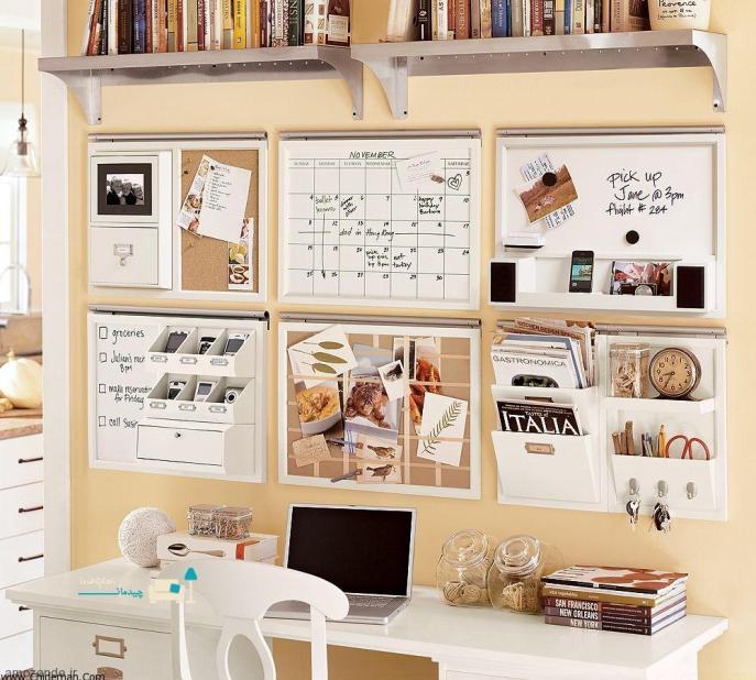 Как оформить рабочий стол дома своими руками
